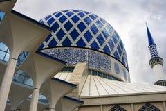 A mesquita azul Fotografia de Stock Royalty Free