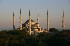 Mesquita azul 2 Foto de Stock Royalty Free