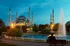 Mesquita azul Imagens de Stock