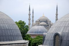 Mesquita azul Foto de Stock Royalty Free