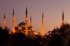 A mesquita azul Imagem de Stock