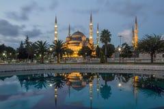 Mesquita azul imagem de stock royalty free