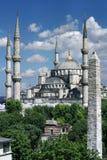 Mesquita azul fotos de stock