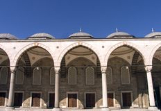 Mesquita azul 8 Imagem de Stock