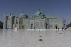 Mesquita azul de Mazar-i-Sharif Fotografia de Stock Royalty Free