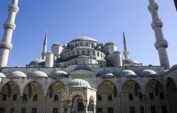 A mesquita azul em Istambul Turquia Fotos de Stock