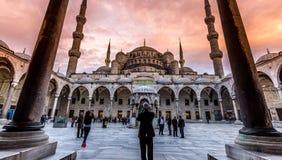 Mesquita azul Istambul imagens de stock royalty free