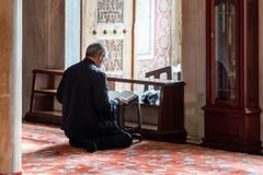 Mesquita azul Istambul, Turquia Foto de Stock Royalty Free