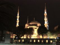 Mesquita azul, Istambul, Turquia Imagem de Stock