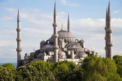 A mesquita azul Istambul, Turquia fotografia de stock