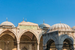 Mesquita azul, mesquita de Sultanahmed no dia ensolarado Fotografia de Stock Royalty Free