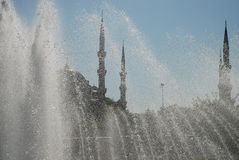 Mesquita azul (Sultan Ahmet Cami), Istambul, Turquia Foto de Stock