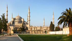 A mesquita azul, Istambul, Turquia Fotos de Stock Royalty Free