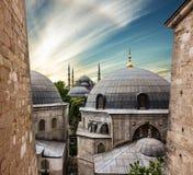 Mesquita azul Sultanahmet, Istambul, Turquia Imagens de Stock