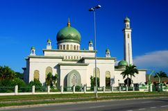 Mesquita bonita do al-Hajjah Mariam do al-Ameerah Fotografia de Stock Royalty Free