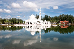Mesquita branca 02 Fotografia de Stock Royalty Free