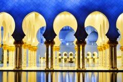 Mesquita branca Fotos de Stock