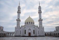 Mesquita branca, Bolgar, Rússia Imagens de Stock