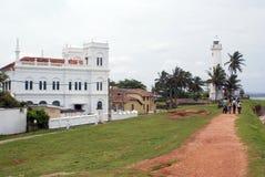 Mesquita branca e casa clara Foto de Stock