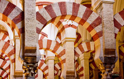 Mesquita-Catedral imagens de stock royalty free