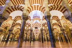Mesquita-catedral de Córdova, Espanha Fotografia de Stock Royalty Free