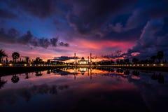 Mesquita central de Songkhla imagens de stock royalty free