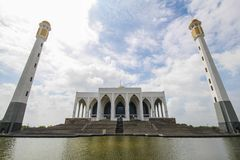 Mesquita central de Songkhla, Tailândia Imagem de Stock Royalty Free