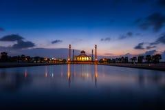 Mesquita central, província de Songkhla, do sul de Tailândia foto de stock