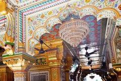 Mesquita complexa Nova Deli India de Nizamuddin fotografia de stock royalty free
