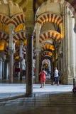 Mesquita, cordoba, Hiszpania Obrazy Stock