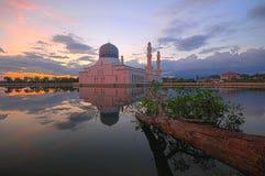 Mesquita da cidade de Kota Kinabalu Imagem de Stock