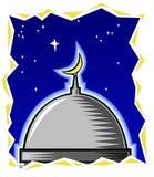 Mesquita da meia-noite fotografia de stock