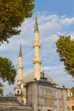 Mesquita da sultão de Eyup fotografia de stock