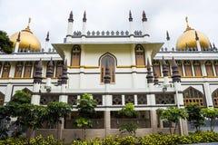 Mesquita da sultão - Singapure foto de stock royalty free