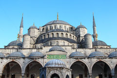 Mesquita de Ahmed da sultão (mesquita azul), Istambul Fotografia de Stock Royalty Free