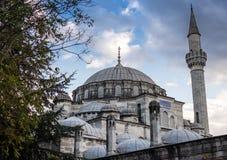 Mesquita de Ahmed da sultão no peru de Istambul imagem de stock
