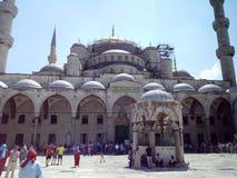 Mesquita de Ahmet da sultão em Istambul imagens de stock