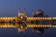 Mesquita de allah do lotf do xeique em Isfahan Irã fotografia de stock