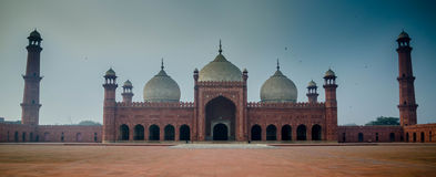 Mesquita de Badshahi Fotografia de Stock Royalty Free