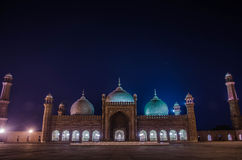 Mesquita de Badshahi, Lahore Imagem de Stock