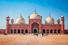 Mesquita de Badshahi (masjid de Badshahi) Imagem de Stock