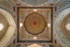 Mesquita de Bibi-Khanym da Rota da Seda velha em Samarkand, Uzbekist Imagem de Stock Royalty Free
