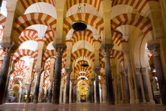 Mesquita de Córdoba foto de archivo libre de regalías