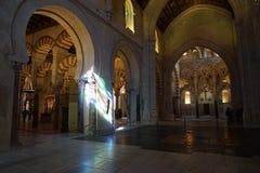 Mesquita de Córdova Fotografia de Stock