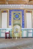 Mesquita de Djome na fortaleza da arca de Bukhara, Usbequistão Imagem de Stock Royalty Free