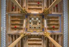 Mesquita de Djome na fortaleza da arca de Bukhara, Usbequistão Imagens de Stock
