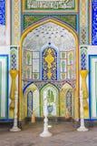 Mesquita de Djome na fortaleza da arca de Bukhara, Usbequistão Fotografia de Stock Royalty Free