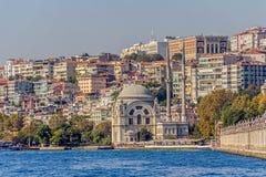 Mesquita de Dolmabahce Fotografia de Stock Royalty Free