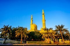 Mesquita de Dubai Jumeirah imagens de stock