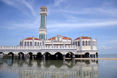 Mesquita de flutuação Imagens de Stock
